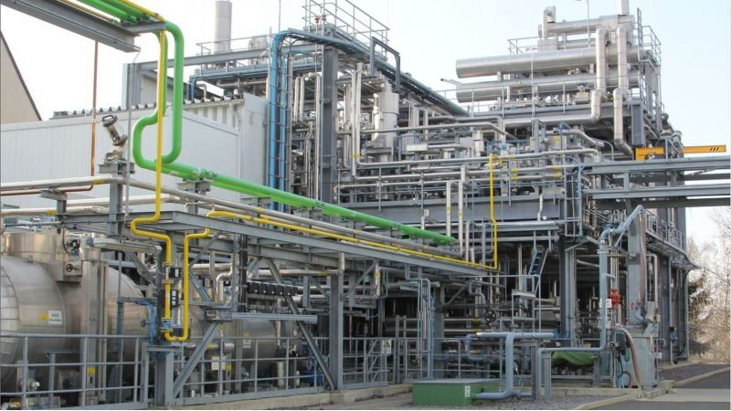 Benzinsyntheseanlage TU Bergakademie Freiberg