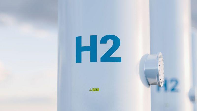 Symbolbild eines Wasserstofftanks