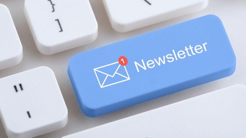 """Newsletter """"Neues aus der angewandten Energieforschung"""": Symbolbild einer Computer-Tastatur"""