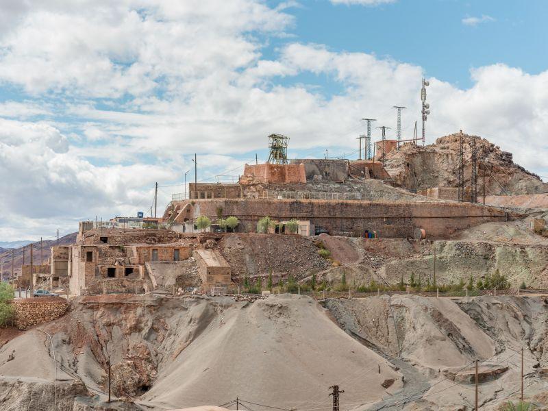 Kobalt-Mine in Bou Azzer, Marokko.