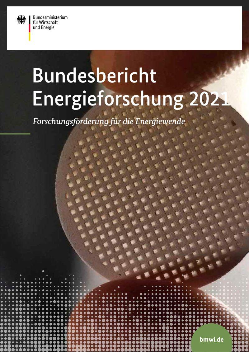 Cover Bundesbericht Energieforschung 2021