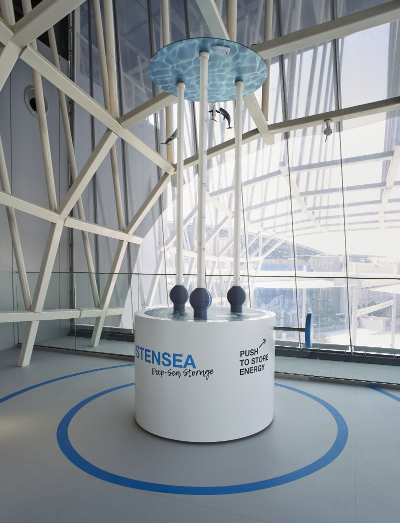 Exponat des Projekts StEnSea