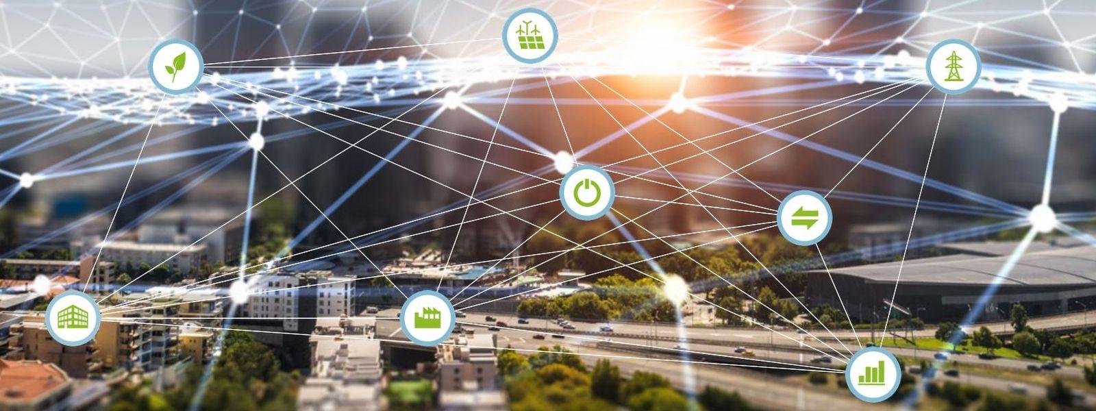 Symbolbild für die Forschungsnetzwerke Energie