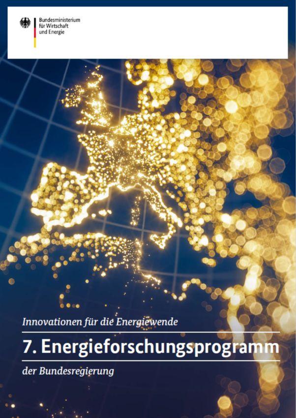 7. Energieforschungsprogramm der Bundesregierung zum Download